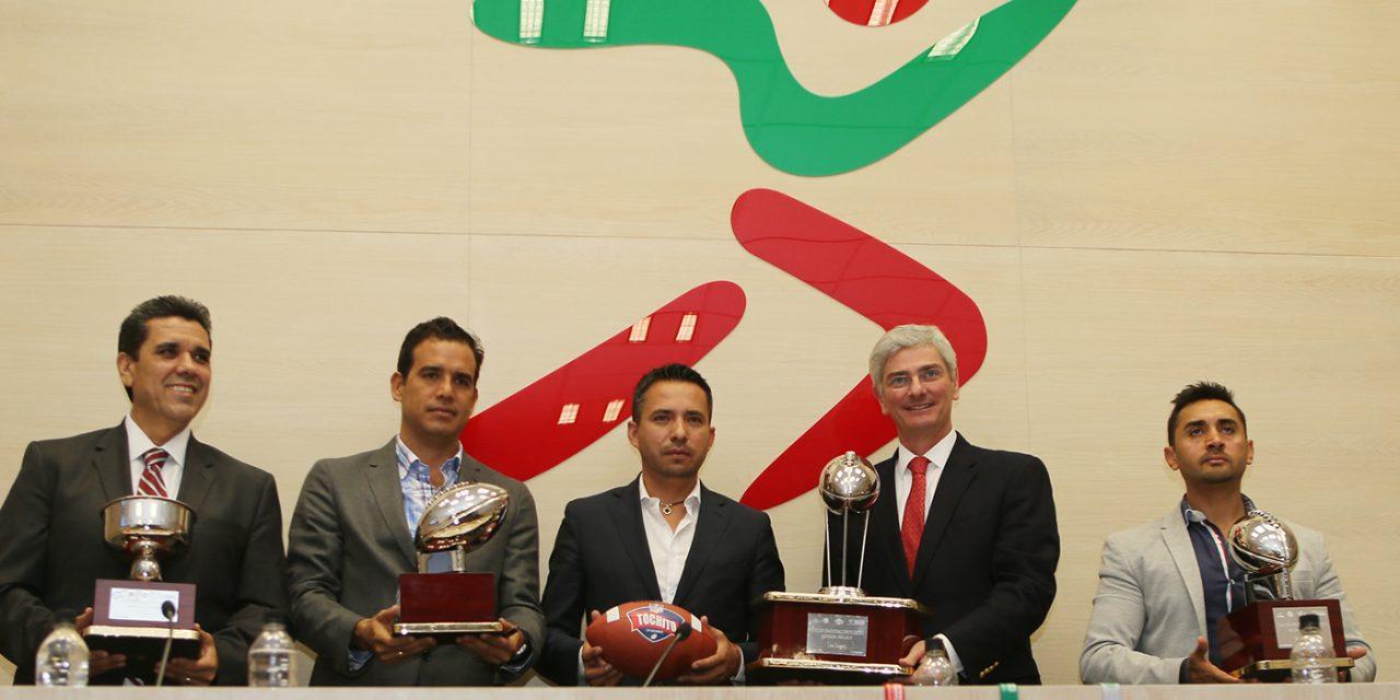Querétaro albergará la gran final del torneo Tochito Bandera NFL-CONADE