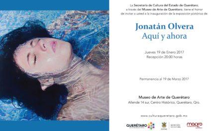 Exposición Pictórica de Jonatán Olvera en el MAQRO