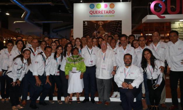 Promueven Querétaro en Tianguis Turístico de Acapulco