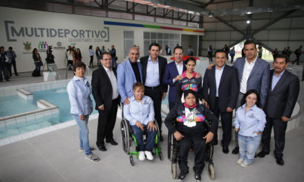 Inaugura Gobernador Multideportivo del Parque Querétaro 2000