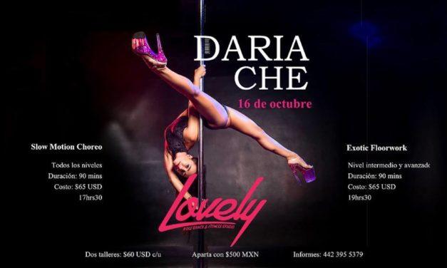 Taller de Pole con Daria Che en Lovely Querétaro
