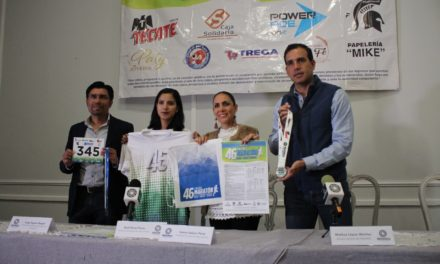 Presentan la 46 edición del medio maratón de la Sierra Gorda