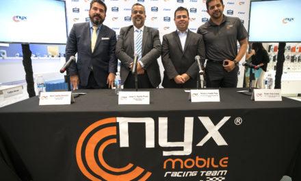 Se Presentó El NYX Mobile Racing Team